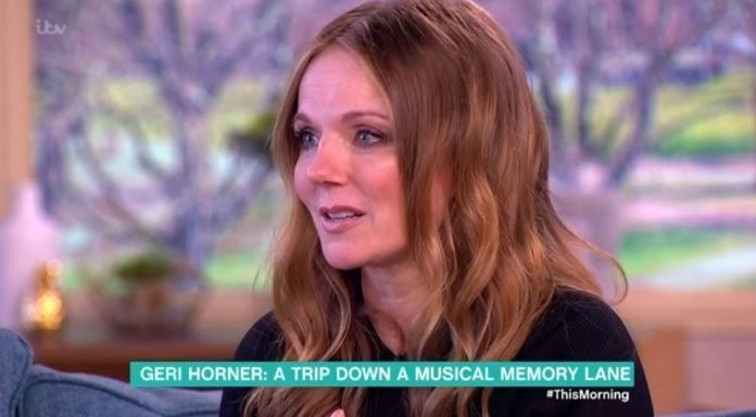 Geri Horner made a tearful appearance on 'This