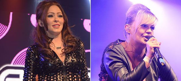 Atomic Kitten's Kerry Katona And Natasha Hamilton Forced To End Student Union Gig Early As Bottles Are...
