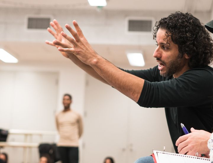 "Broadway performer and choreographer Luis Salgado directs and choreographs APAC's upcoming production of ""In the Heights."""