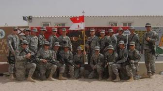 2nd Platoon B Troop 3-61 Cavalry Kuwait October 2006 The author is standing on the far left