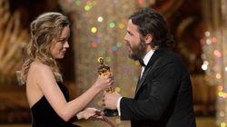 Brie Larson asegura que su reacción al darle el Oscar a Affleck