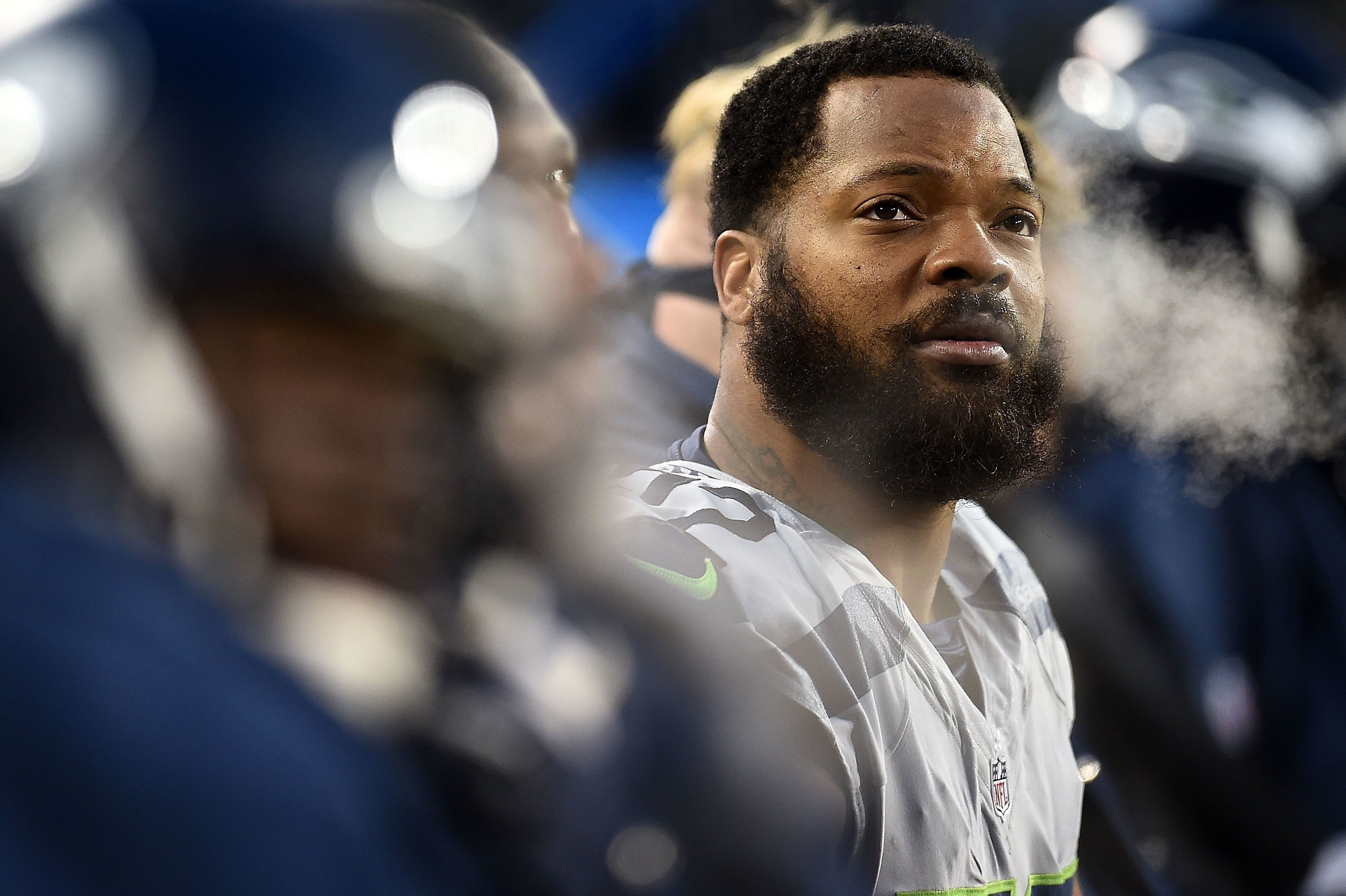 Michael Bennett is adefensive endfor the Seattle Seahawks.
