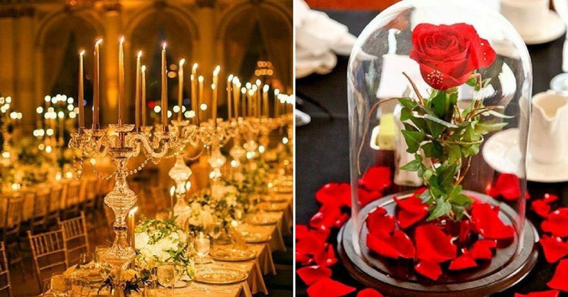 25 Enchanting Wedding Ideas Inspired By Beauty And The Beast Huffpost