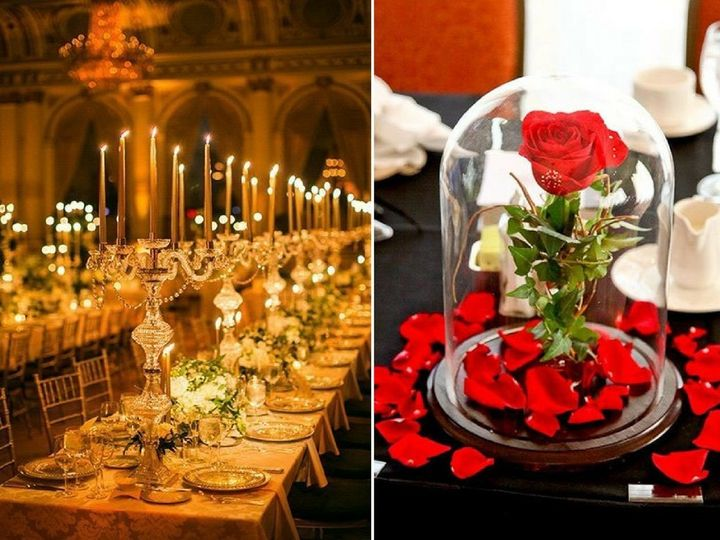 25 Enchanting Wedding Ideas Inspired By Beauty And The Beast