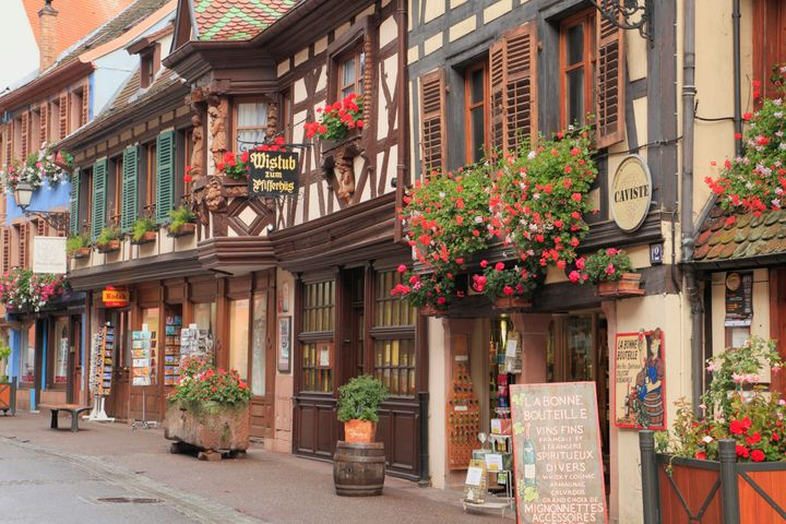 "The town's <a href=""http://www.lonelyplanet.com/france/riquewihr/introduction"" target=""_blank"">fairytale feel</a> makes it a popular stop on <a href=""http://www.huffingtonpost.com/entry/river-cruise_us_56902a5ae4b0a2b6fb702481"">river cruises</a>."