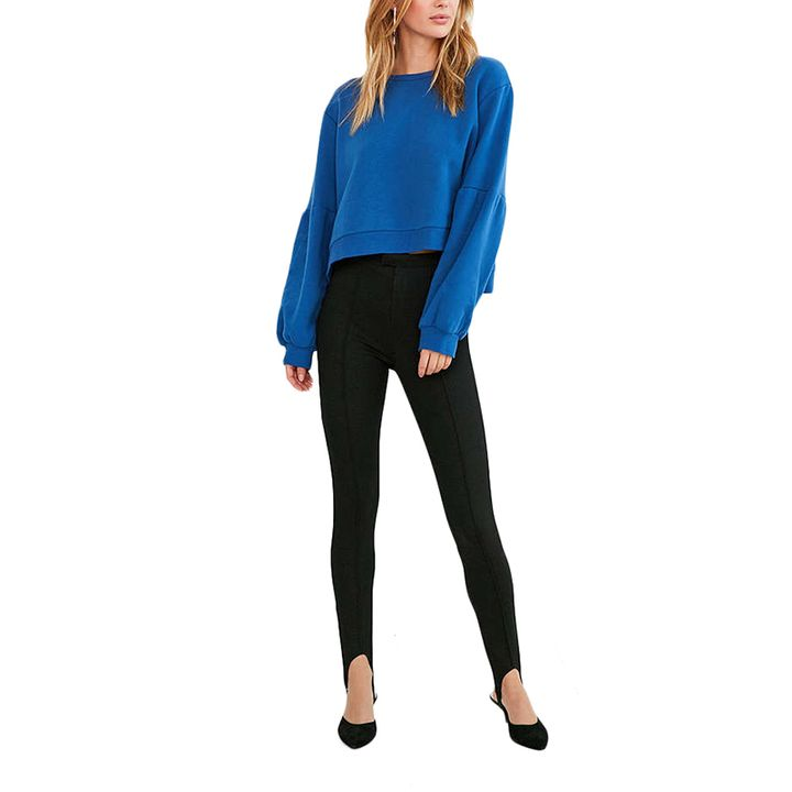 """<p><a rel=""""nofollow"""" href=""""http://www.anrdoezrs.net/links/3550561/type/dlg/http://www.urbanoutfitters.com/urban/catalog/productdetail.jsp?id=41010539&color=001&cm_mmc=SEM-_-Google-_-PLA-_-82529881984_product_type_w_product_type_app_product_type_pants&product_id=41010539%20001%204000&adpos=1o9&creative=100432022824&device=c&matchtype=&network=g&gclid=CMSmyaaps9ICFYmEswodm8UPgA"""" target=""""_blank"""">Silence + Noise Stirrup Pant Legging,</a> $49</p>"""