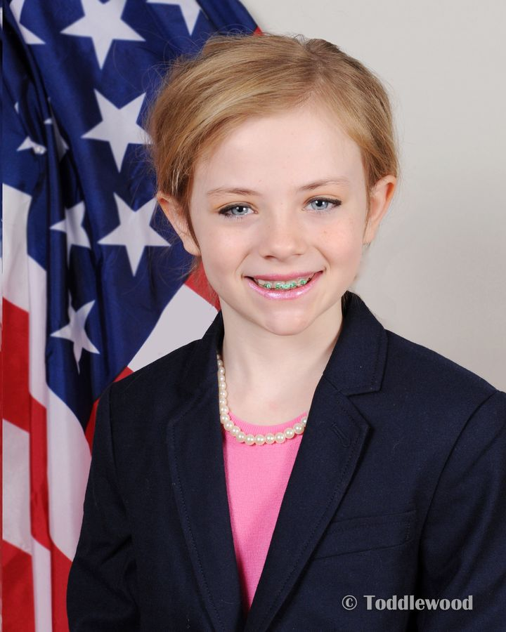 Jaymie as Hillary Clinton