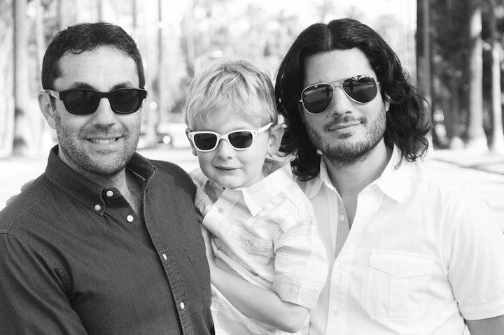 Alex, Maxwell and David
