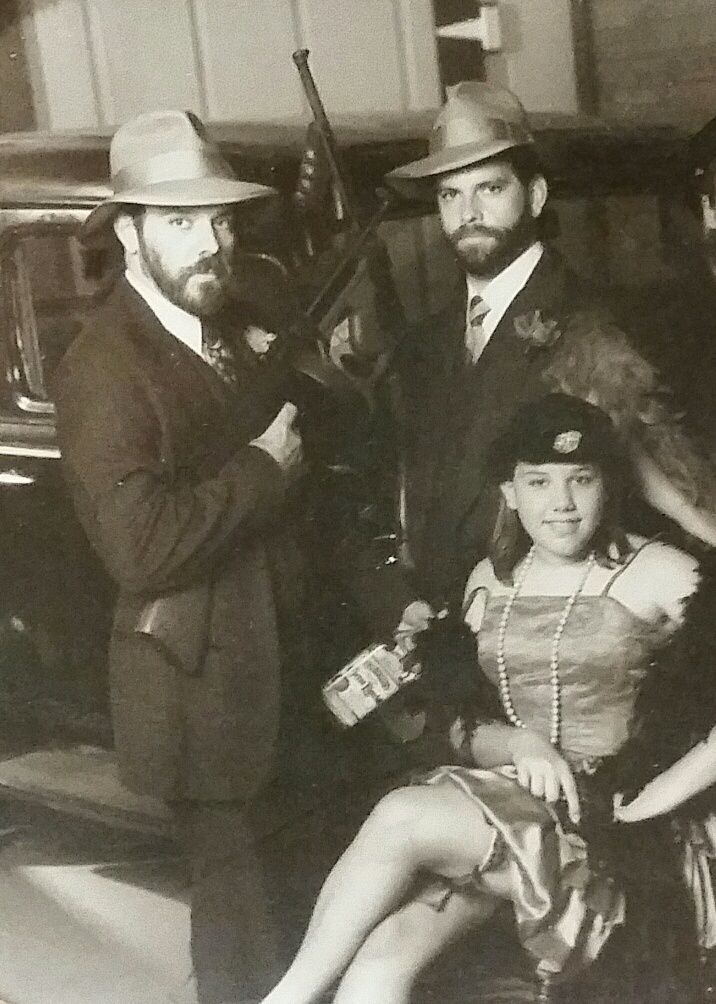 Gangster family portrait, 1993