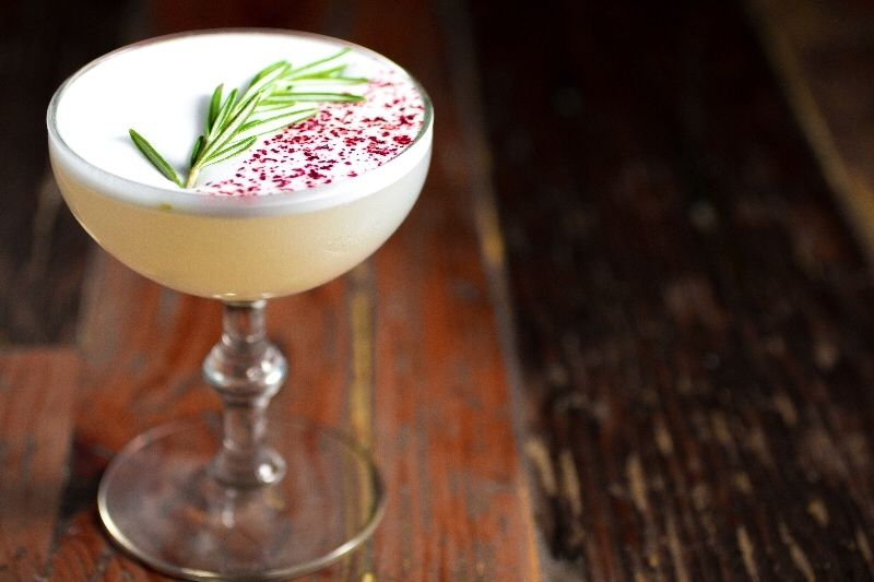"""""""Lupine & Lilacs"""" Cocktail at Forest Hills Station House"""