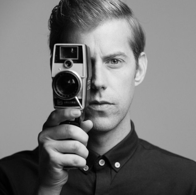 Andrew McMahon In The Wildfreness With His Groovy Camera