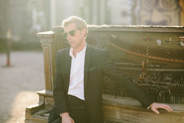Andrew McMahon In The Wilderness With Most Of His Piano
