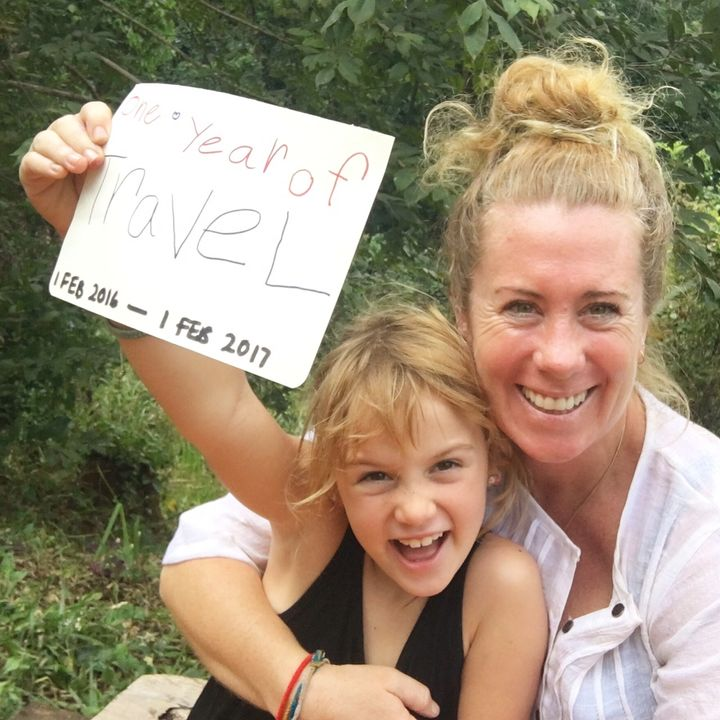 <p>We celebrated one year of travel in February 2017.</p>