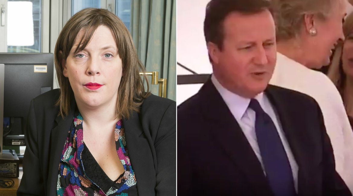 Jess Phillips Pours Icy Cold Water On David Cameron's Awkward Lip