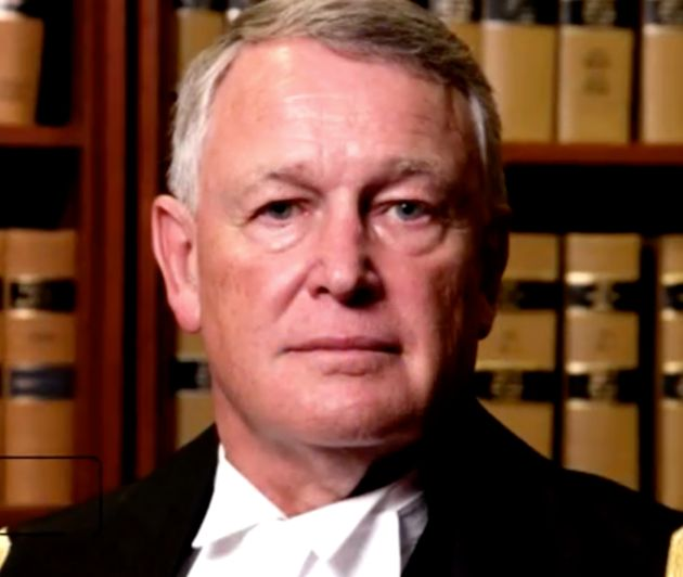 'Knees together' judge says he is resigning from the bench