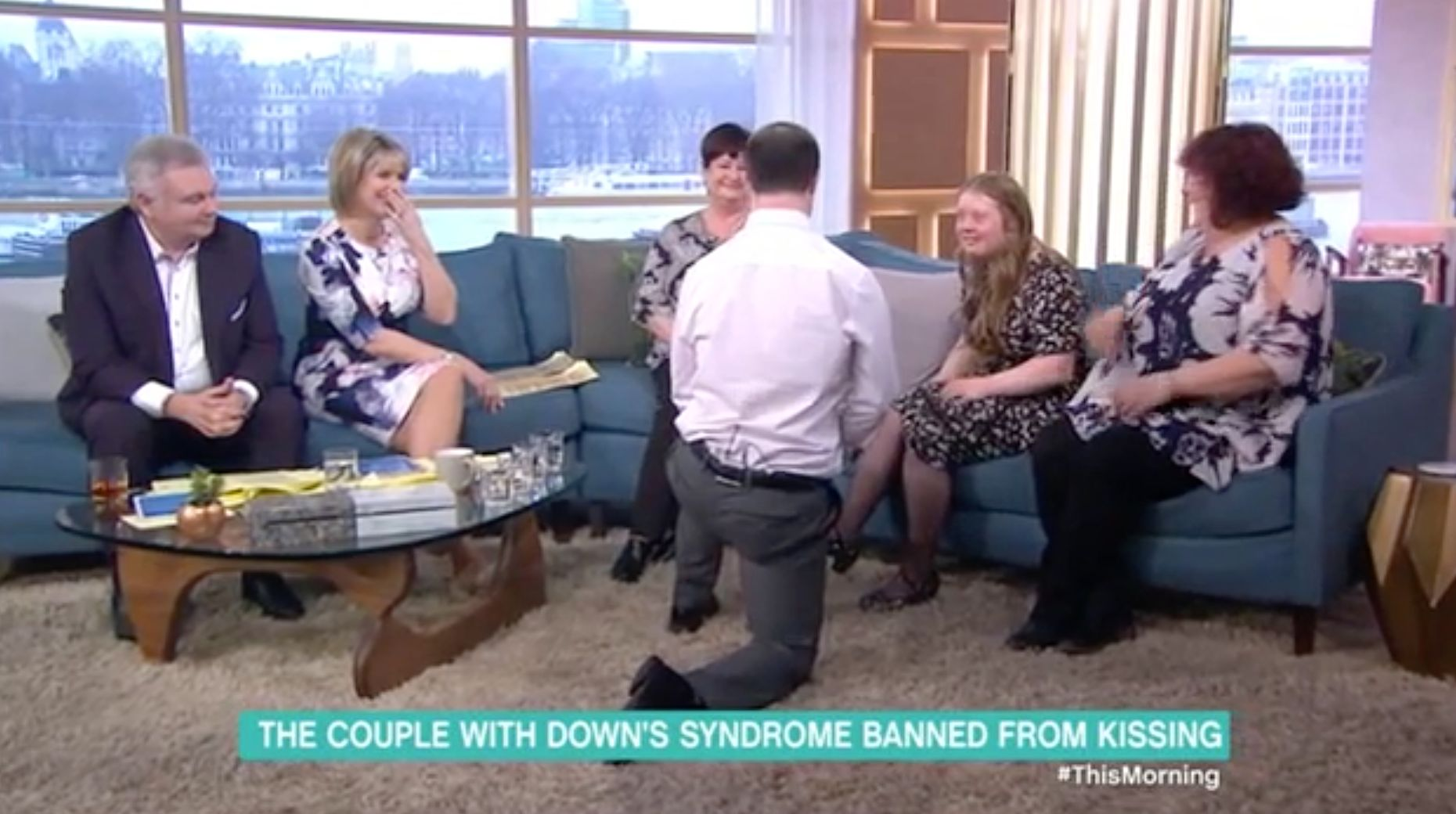 Couple With Down's Syndrome Who Were 'Banned From Kissing' Get Engaged On 'This