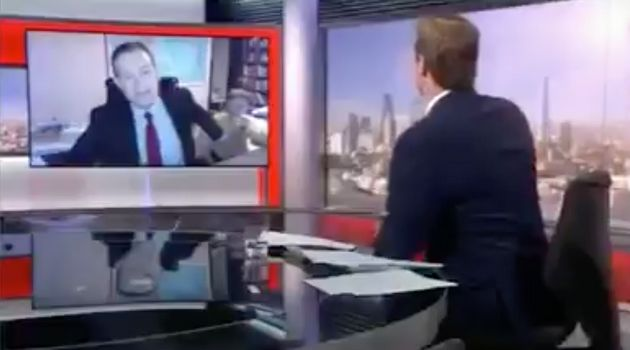 Hilarious moment man's children invade BBC interview