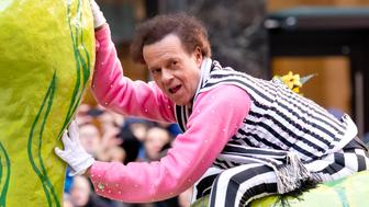 NEW YORK, NY - NOVEMBER 28:  Richard Simmons attends the 87th Annual Macy's Thanksgiving Day Parade on November 28, 2013 in New York City.  (Photo by Noam Galai/Getty Images)