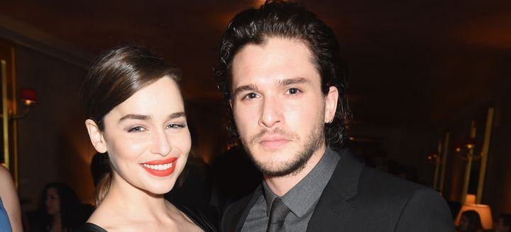 The Mother of Dragons and the King in the North.