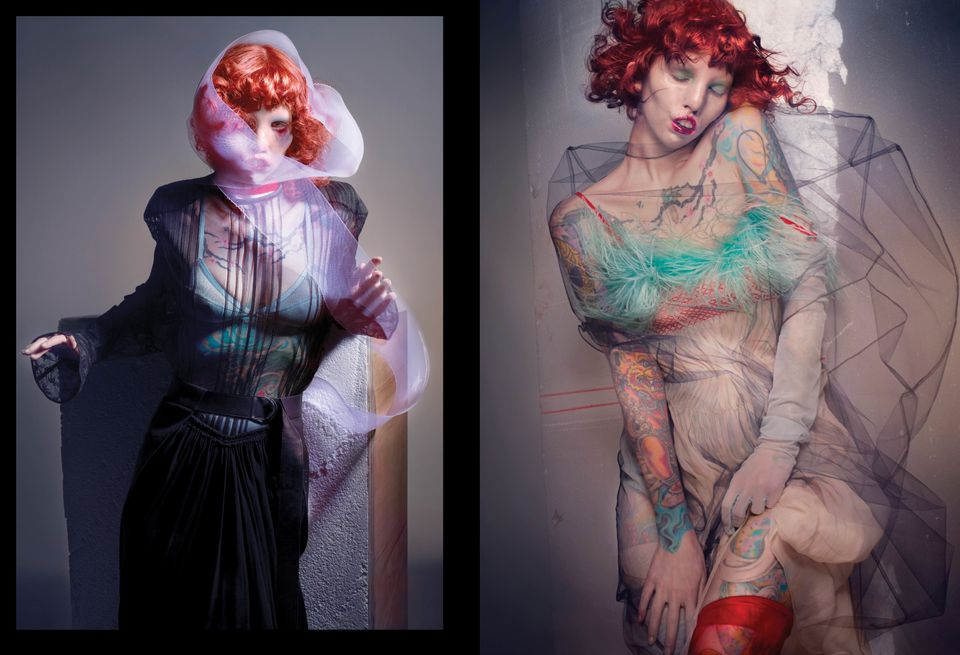 Model With Cat Eye Syndrome Stars In Inspirational Nick Knight Photoshoot For V