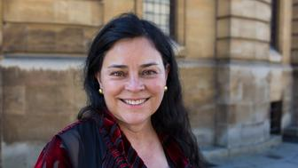 OXFORD, ENGLAND - MARCH 22:  Diana Gabaldon, author, on Day 2 of the FT Weekend Oxford Literary Festival on March 22, 2015 in Oxford, England.  (Photo by David Levenson/Getty Images)