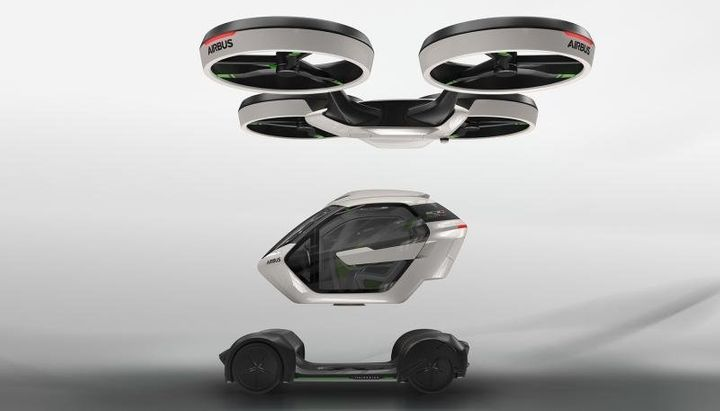 "The Pop.Up is described as a ""<a href=""http://www.airbusgroup.com/int/en/news-media/press-releases/ITALDESIGN-AND-AIRBUS-UNVEIL-POPUP.html"" target=""_blank"">seamless, multi-modal</a>, fully electric urban mobility."""
