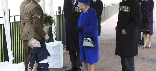 Kid Having A Meltdown In Front Of The Queen Is Every Toddler Ever