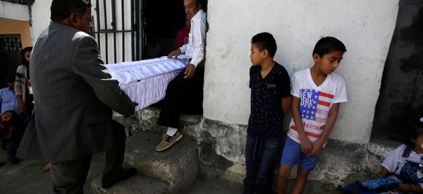 Girls Burned To Death Under Lock And Key In Guatemala Shelter