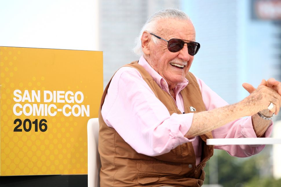 Writer Stan Lee attends the IMDb Yacht at San Diego Comic-Con on July 22, 2016, in San Diego.
