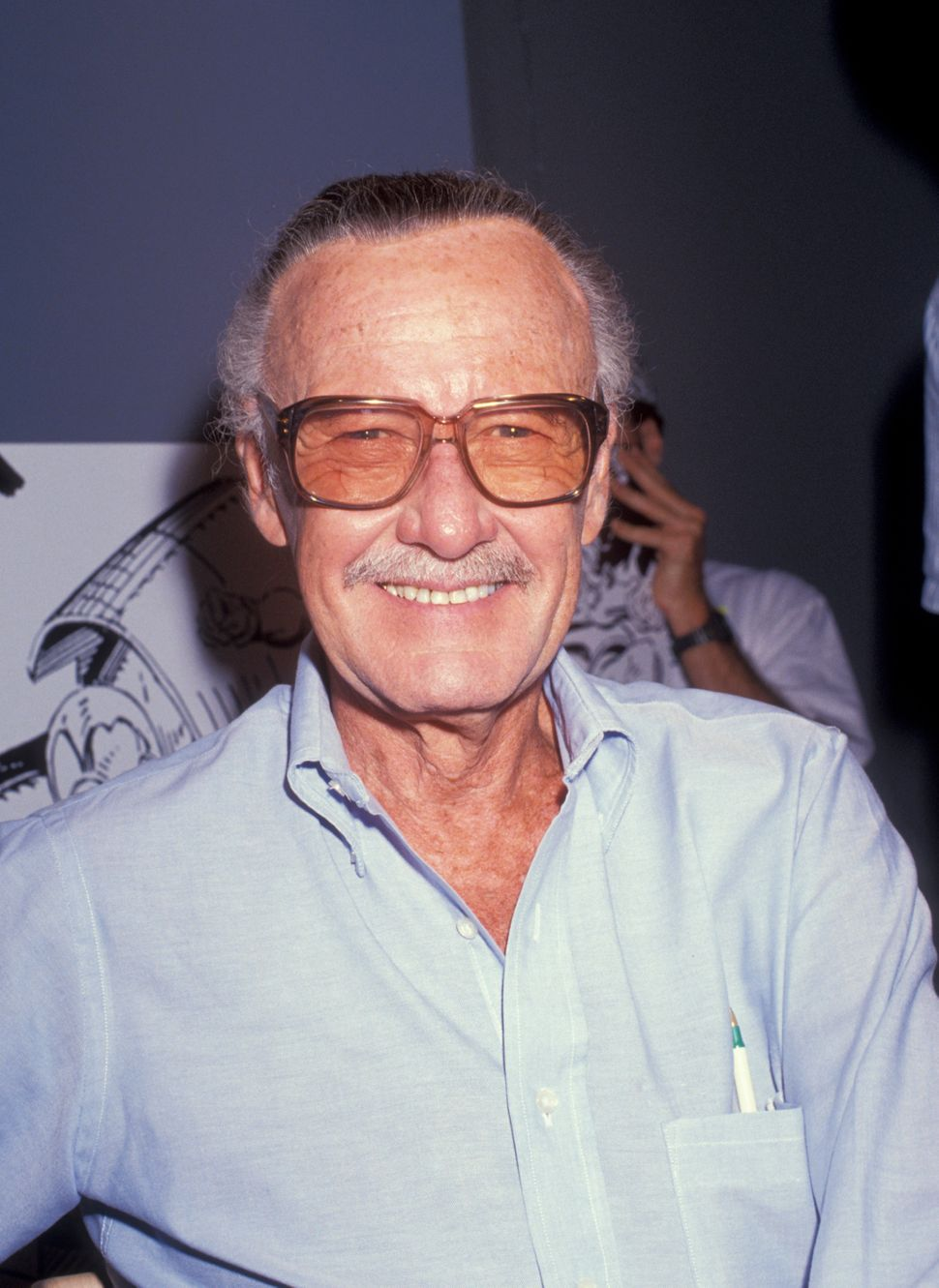 Comic book mogul Stan Lee attending 'Comic Book Greats' on Sept. 20, 1991, at Excelsior Productions in Los Angeles.