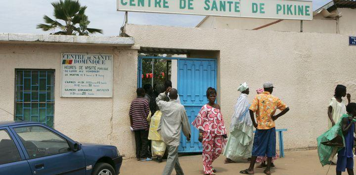 Health centre in Sainte Dominique, Dakar, Senegal.