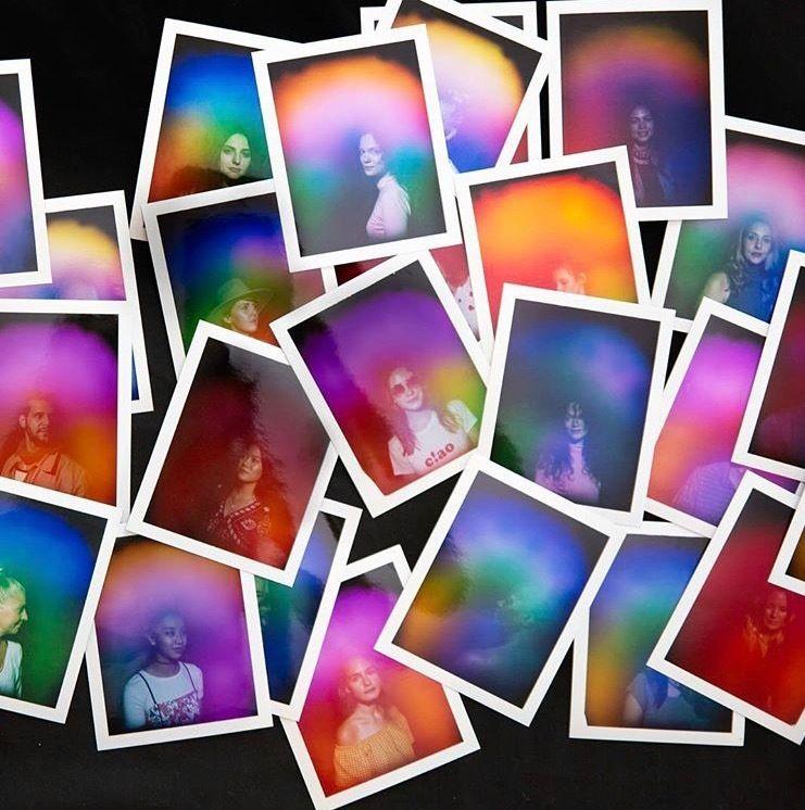 Nomadic aura portrait studio MOODxMOSS is participating in SXSW this year.