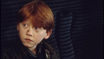 UNITED STATES - NOVEMBER 01:  Film 'Harry Potter and the philosopher's stone' In United States In November, 2001-Ron Weasley (Rupert Grint).  (Photo by 7831/Gamma-Rapho via Getty Images)