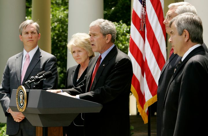 President George W. Bush directed the U.S. Environmental Protection Agency to act on greenhouse gas emissions from cars and t