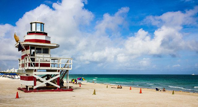 <p>Miami Beach Lifeguard Stations</p>