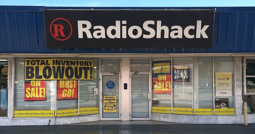 Déjà Vu - RadioShack Brand files for Chapter 22 Bankruptcy