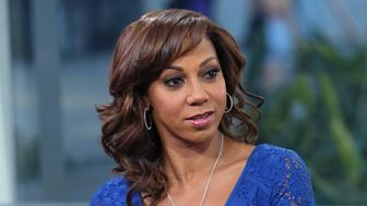 HOLLYWOOD, CA - MARCH 02:  Actress Holly Robinson Peete visits Hollywood Today Live at W Hollywood on March 2, 2017 in Hollywood, California.  (Photo by David Livingston/Getty Images)