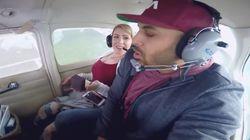 Man Proposes To Girlfriend On Romantic Plane Ride, Immediately Throws