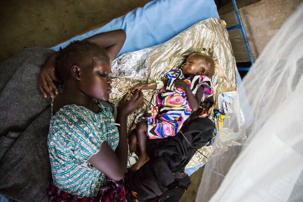 At least 100,000 people in South Sudan are facing death, and 1 million more teeter on the brink of starvation.