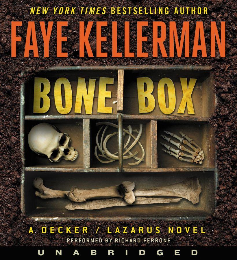 Cover of THE BONE BOX by Faye Kellerman
