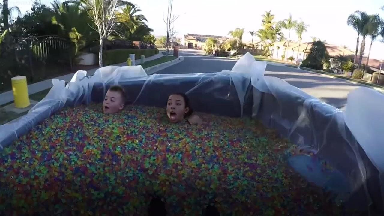 Rocco Pizza and his nanny take a dangerous cruise around Corona California