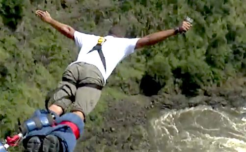 Will Smith Fulfills 20-Year Dream Of Bungee Jumping At Victoria