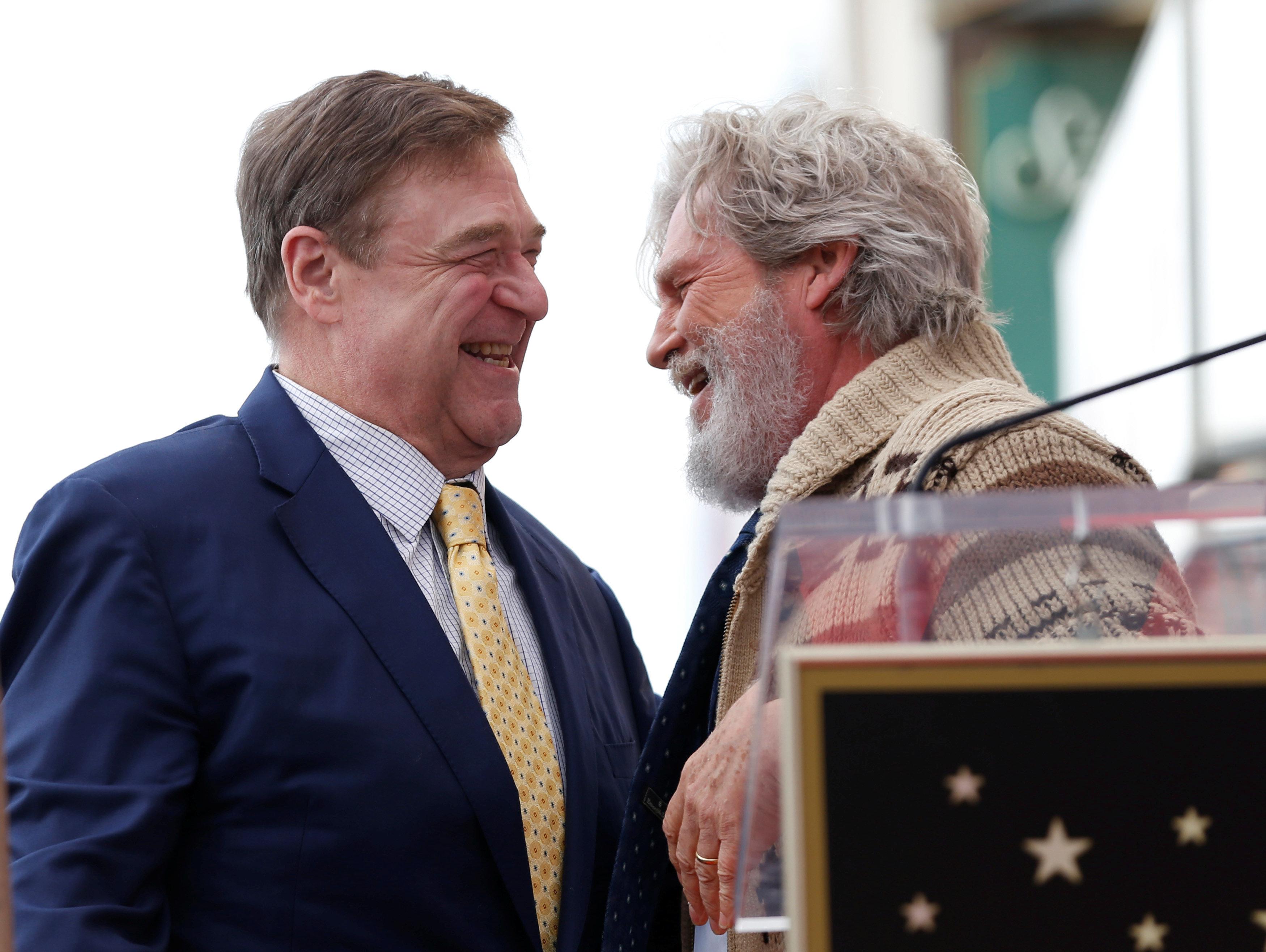 Jeff Bridges Reprises 'Lebowski' Character For John Goodman's Walk Of Fame