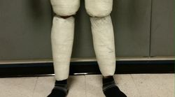 Man 'Bursting Out Of His Pants' Arrested For Cocaine Smuggling At