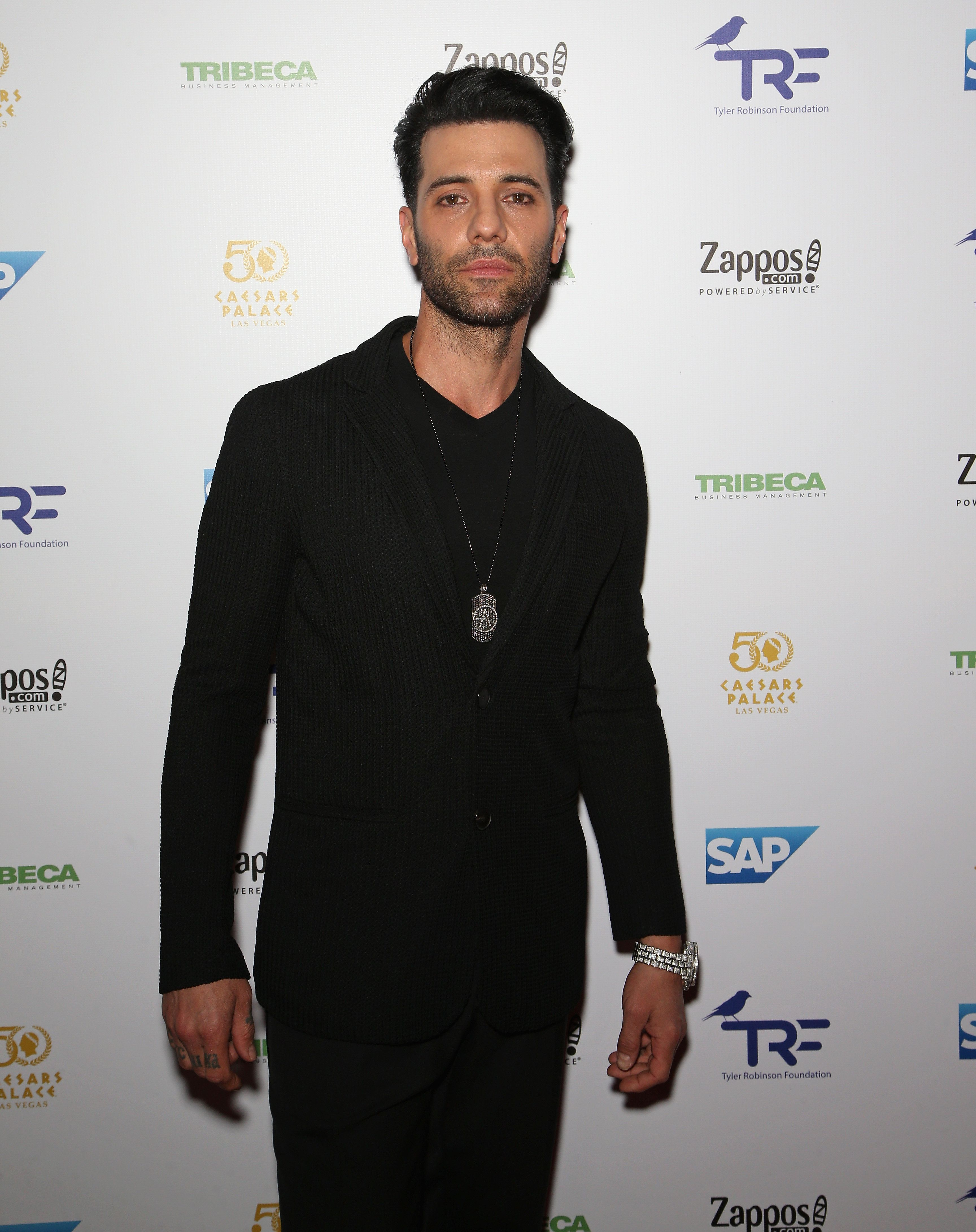 LAS VEGAS, NV - SEPTEMBER 30:  Illusionist Criss Angel attends the third annual Tyler Robinson Foundation gala benefiting families affected by pediatric cancer at Caesars Palace on September 30, 2016 in Las Vegas, Nevada.  (Photo by Gabe Ginsberg/FilmMagic)