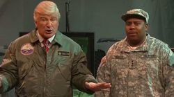 Alec Baldwin Battles Real Aliens On 'SNL' As