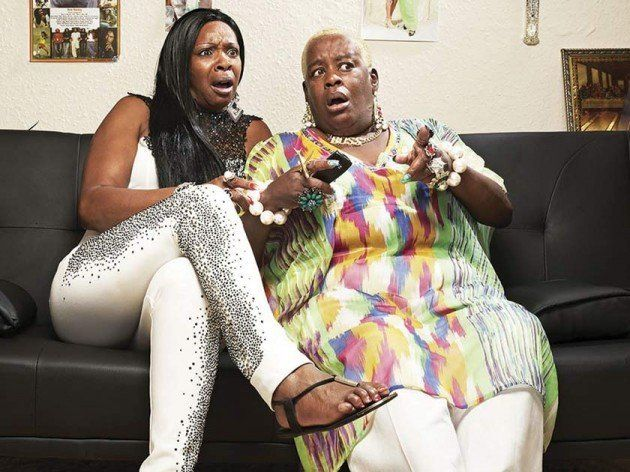 Sandra (right) with her former 'Gogglebox' sofa companion, best friend