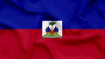 Haiti waving flag