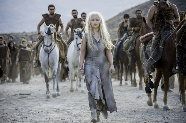 A scene fromHBO's hit drama series, Game of