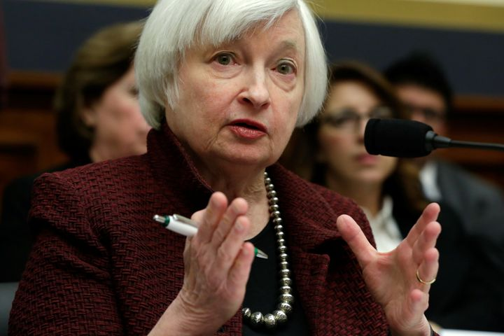 Federal Reserve Chair Janet Yellen delivers semiannual monetary policy testimony during a House Financial Services Committee